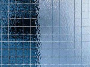Армированное стекло в двери