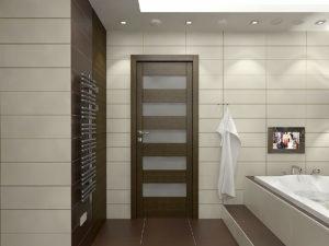 Дверь для ванной и туалета