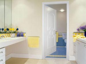 двери в ванную пвх