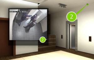 Где можно устанавливать двери с видеонаблюдением
