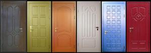 Крашенныемежкомнатные дверииз МДФ