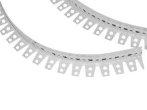 Металлические уголки для окантовки арки