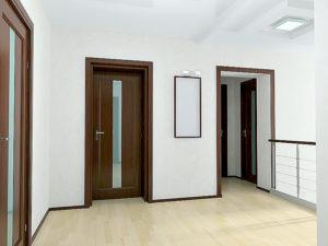 """Как выглядят двери цвета """"Миланский орех"""""""