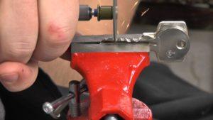 Процесс изготовления станка для ключей своими руками
