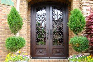 входная дверь красивая