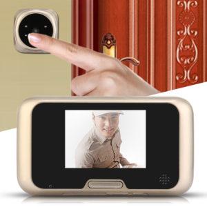 Входные двери с видеонаблюдением