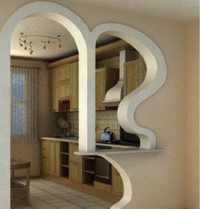 арок для кухни