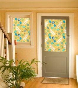 Чем отделать старую дверь