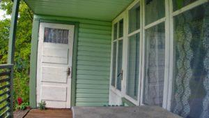 дачной двери