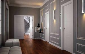 Достоинства и недостатки светлых дверей в интерьере дома