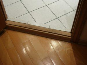 Дверной короб с порогом