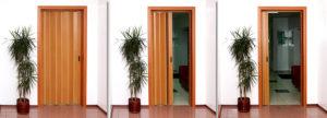 Межкомнатная дверь гармошка_