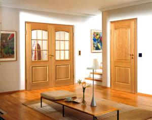 Нейтральные оттенки дверей в квартире