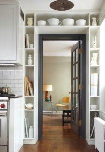 оформления дверного проема на кухню