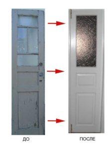 отреставрировать двери самостоятельно