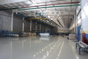 Производственная площадка фабрики ОКЕАН