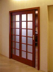 Раздвижные кассетные двери