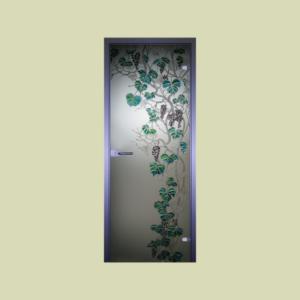 стеклянные двери Юркас