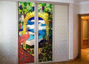 Витражное оформление для стекол